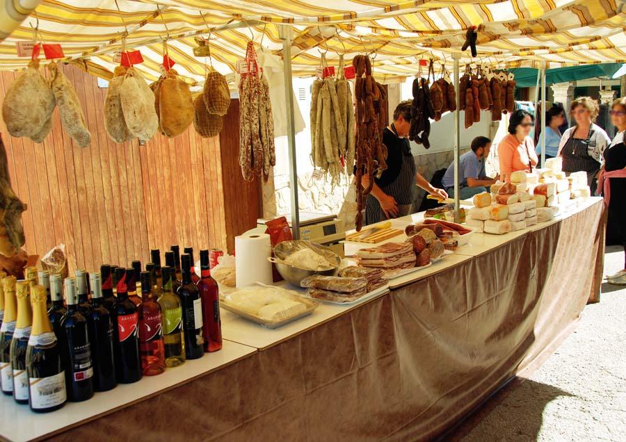 Wochenmarkt auf Mallorca