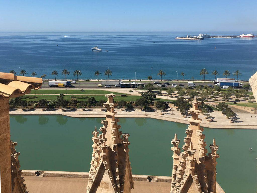 Besichtigung der Kathedralen-Terrassen in Palma de Mallorca