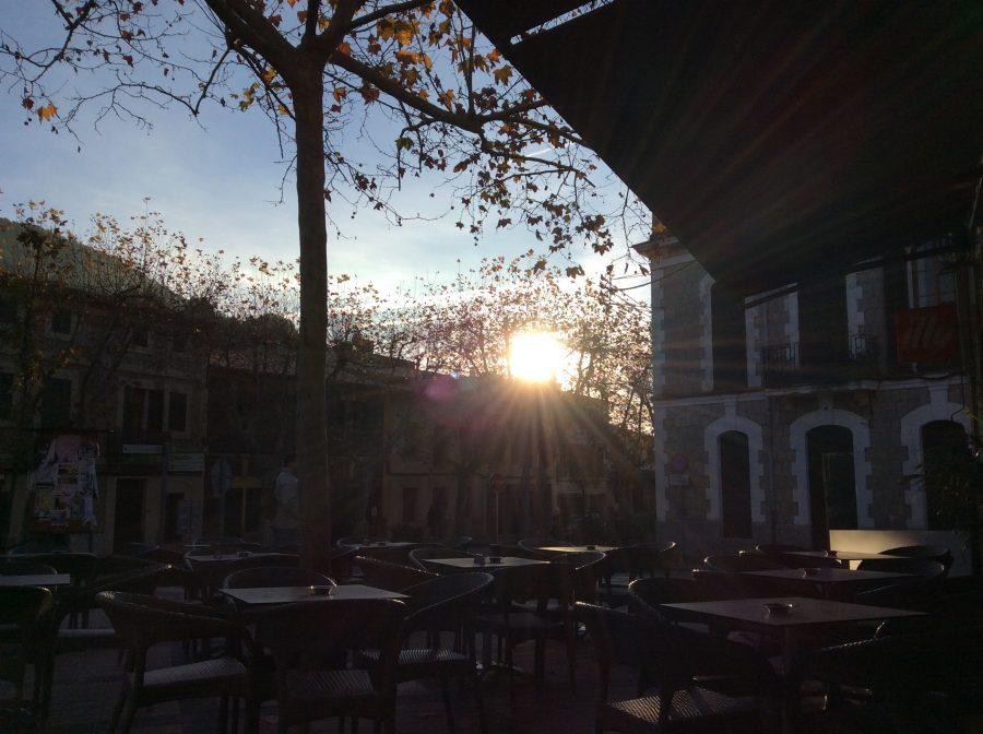 Die Sonne am Morgen auf Mallorca