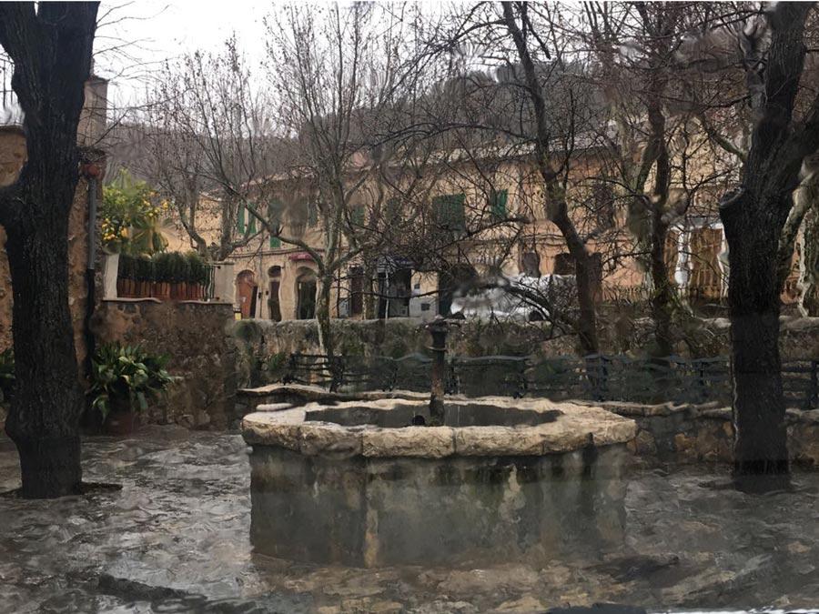 Das Mallorca-Regenwetter am Freitag