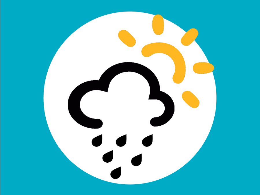Heute Sonne und Regen auf Mallorca