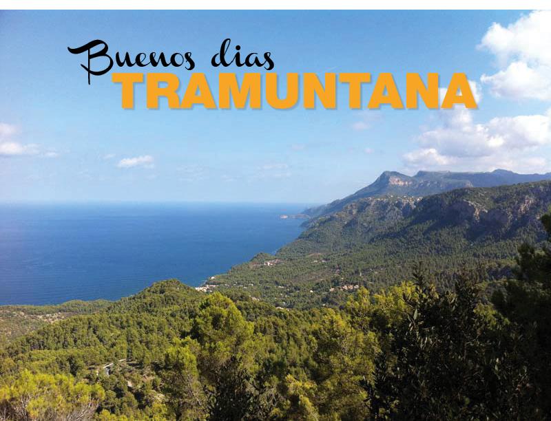 Die Sierra de Tramontana auf Mallorca