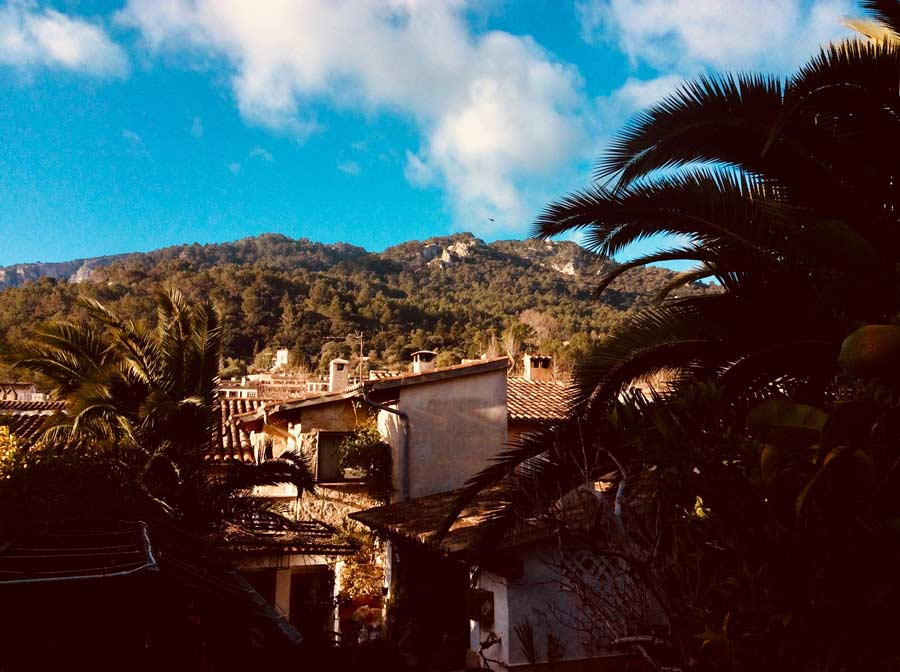 Sonniges Wetter auf Mallorca