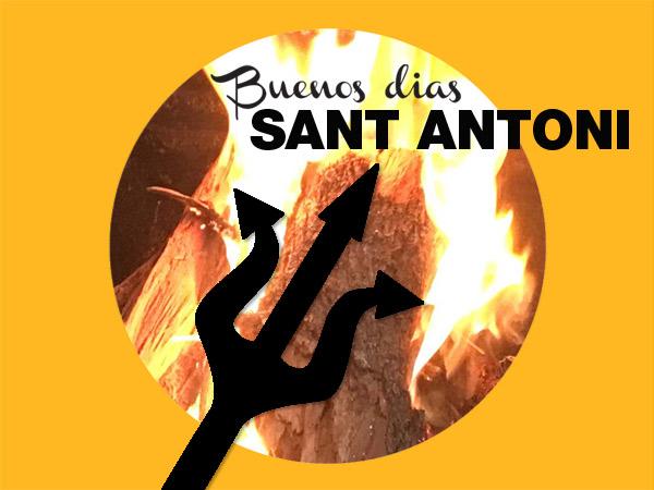 am 17. Januar: wird auf Mallorca Sant Antoni gefeiert